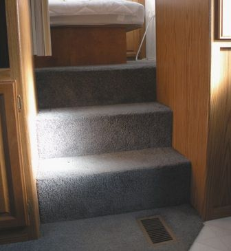 A Set Of RV Storage Stairs Is Part Our Major Remodeling Project