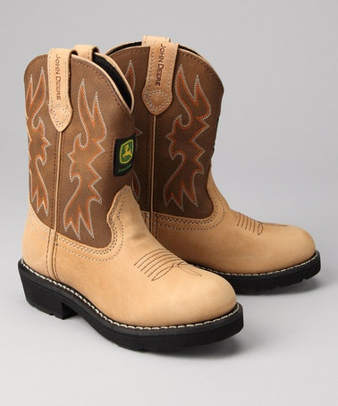 http://www.zulily.com/invite/aball4351    Take a look at this Kids Camel Round-Toe Wellington Cowboy Boot by Blow-Out on #zulily today!