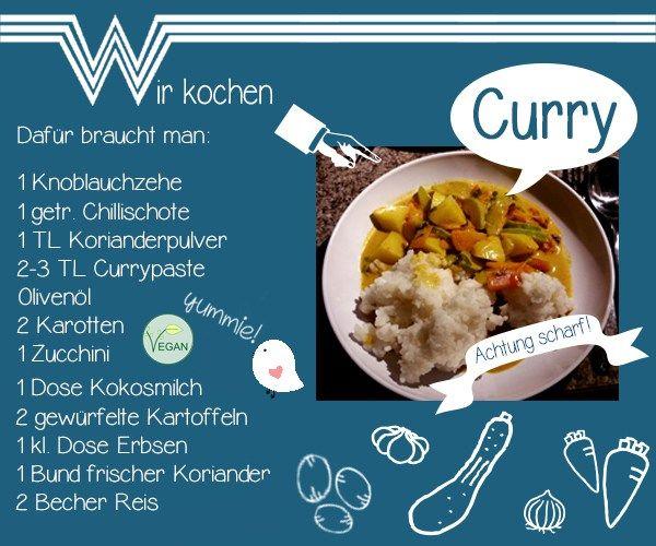 Wir lieben asiatisch und so ein leckeres Curry geht ruck-zuck, wenn man es richtig vorbereitet! Zubereitung: Den Reis kann man ohne viel Kochaufwand schon am Morgen vorbereiten: 2 Becher Reis (vorzugsweise Basmati) mit doppelter Wassermenge (4 Becher) in einen Topf geben, aufkochen, kurz köcheln lassen und vom Herd nehmen. Den heißen Reis im Topf lassen,…