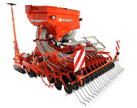 The SD Series is the ideal machine for small, medium and large-sized farms and combines a compact, light design with the proven Kubota quality.  Know more at http://www.whitestractors.com.au/seeding-equipment.html  #kubotaseeddrill