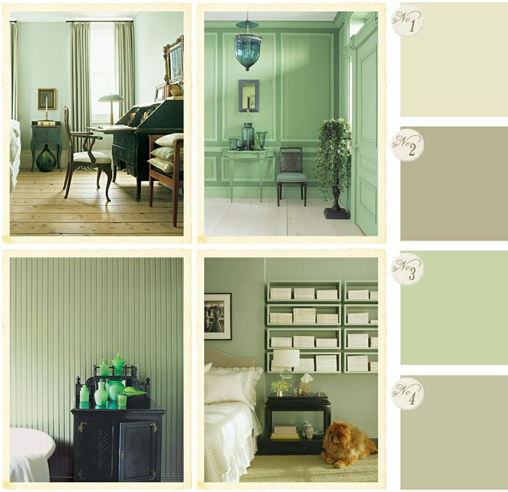 858 best images about interiors colors on pinterest for Green ground farrow and ball