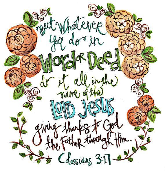 Scripture Wall Art. Bible Verse Art. Christian by artbyerinleigh, $18.00