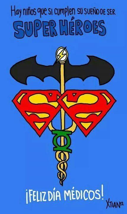#HoySeCelebra el Día del Médico. Felicidades a todos ellos!