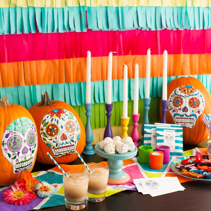 check out everything you need for the ultimate dia de los muertos celebration - Halloween Dia