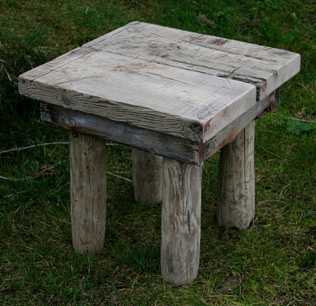 Driftwood End Table: Furniture : Unique Design And Style Of The Driftwood End