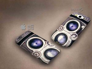 Cute Camera Rolleiflex 3D case, full image, for iphone 4/5/5c & Galaxy S3/S4
