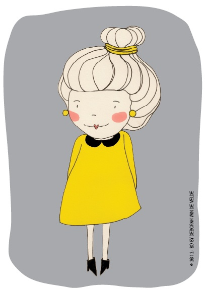 cute girl illustration - by bodesigns