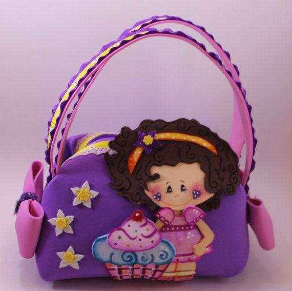 Miss Cupcake Little Girl Purse by SweetBellaLuna on Etsy, $14.00