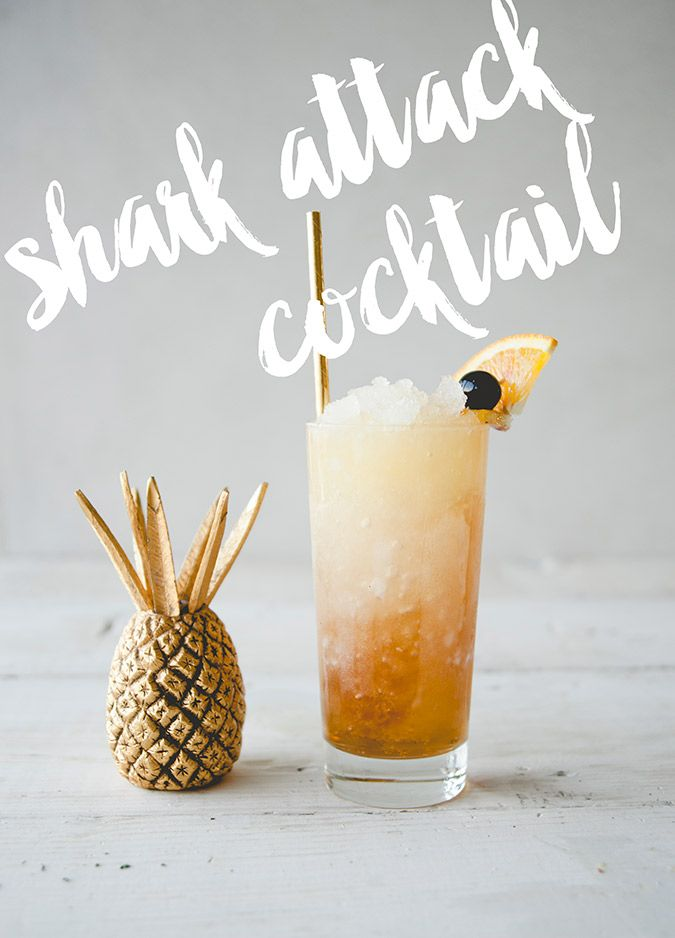 Recipe Box: Shark Attack Cocktail | Lauren Conrad | Bloglovin'