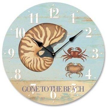 Coastal/Tropical Style beach-style-clocks
