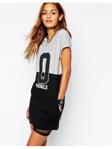 adidas Originals T-Shirt Dress - Multi