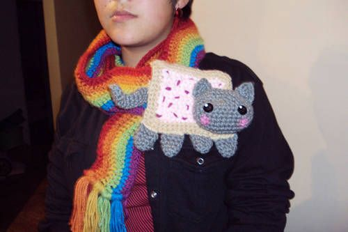 Nyan Cat Scarf Crochet Pattern Free : 1000+ ideas about Nyan Cat on Pinterest Pusheen ...