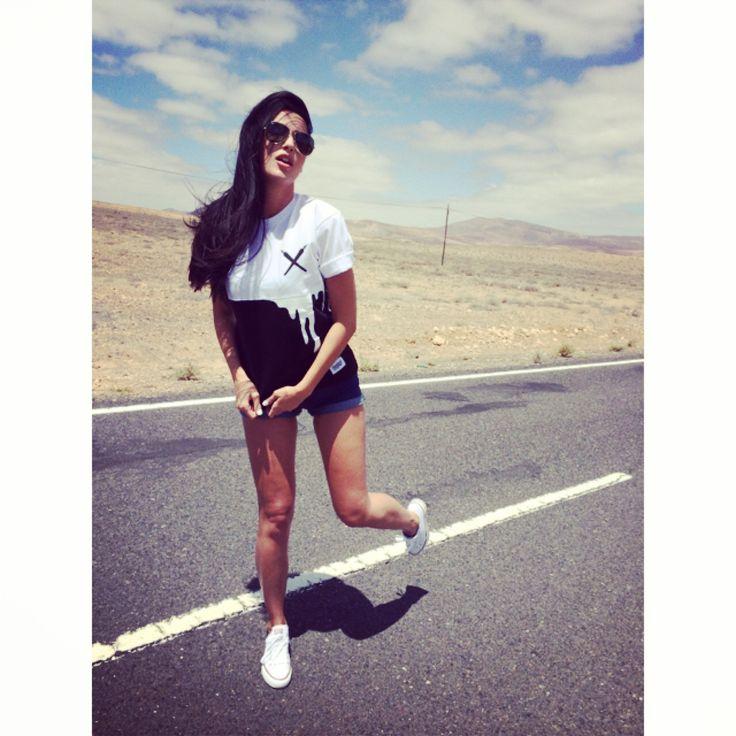 @magdalencja x Double Joint T-shirt @ Fuertaventura