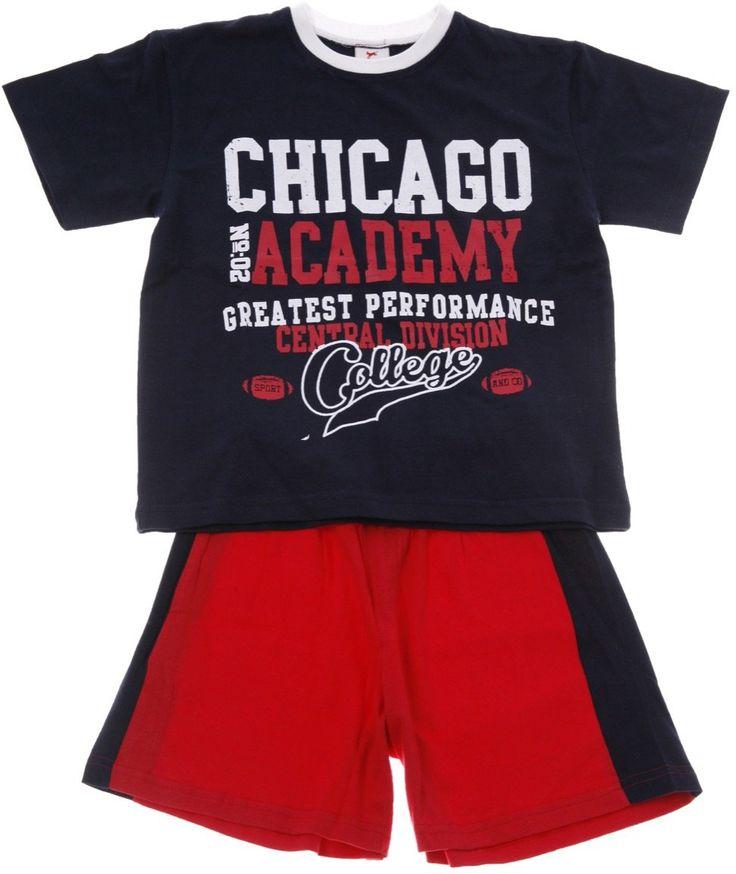 New College παιδικό σετ μπλούζα-παντελόνι βερμούδα «Chicago» - Παιδικά ρούχα AZshop.gr