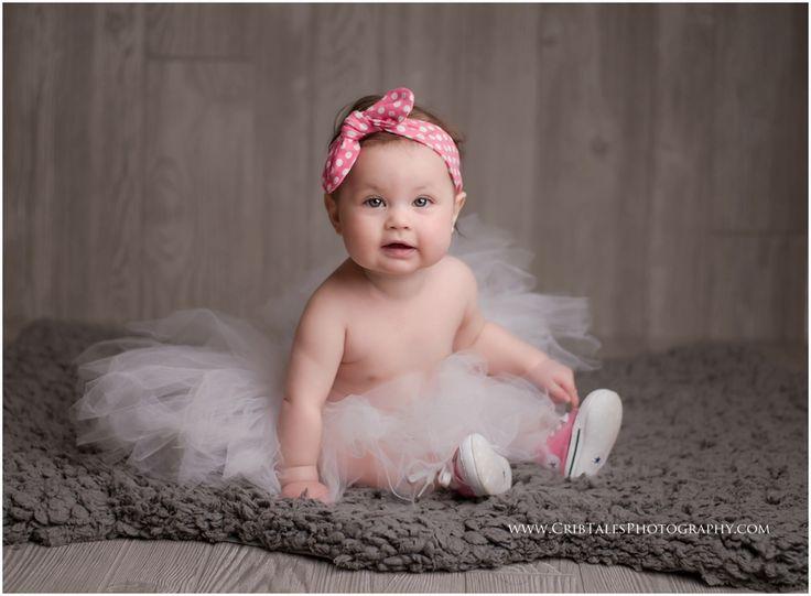 6 month milestone castle rock baby photographer