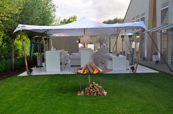 Organic tente Stretch 6m x12m