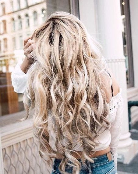 pinterest // roseclairdelune   Wish I could be this blonde! ♡