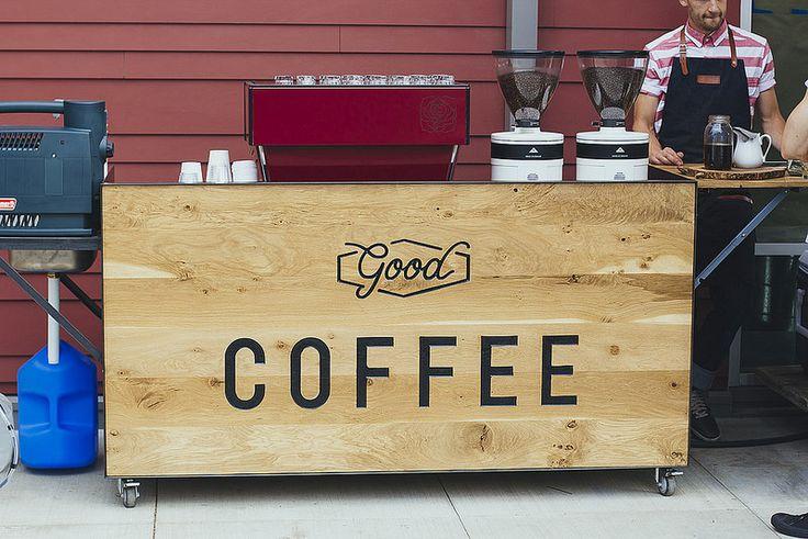 Good Coffee coffee cart |Portland OR