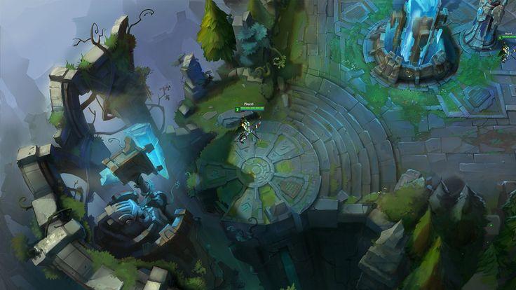 ¡Unos bocetos de la Grieta del Invocador! | League of Legends