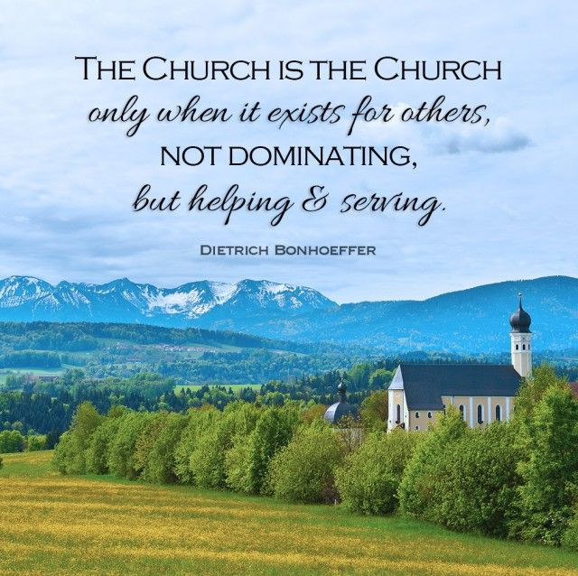 10 Things Dietrich Bonhoeffer Said About the Church