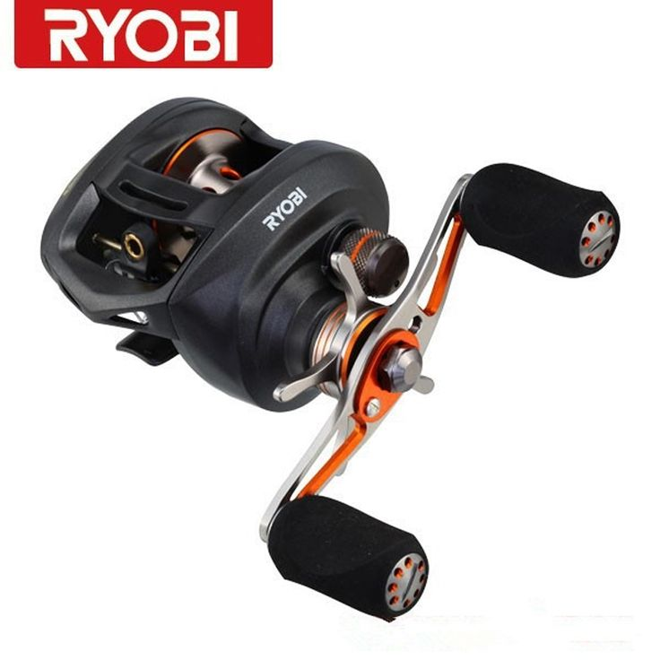 99.99$  Watch now - http://alieer.worldwells.pw/go.php?t=1631264745 - Ryobi PLUMA Right Left Handle Round Baitcasting Reels Reel 11BB Gear Ratio 7.1:1 Carretes Fishing Gear Moulinet Peche Super Deal 99.99$