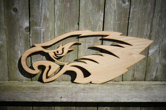 Hey, I found this really awesome Etsy listing at https://www.etsy.com/listing/198873247/philadelphia-eagles-logo-wood-cut-wall  Philadelphia Eagles