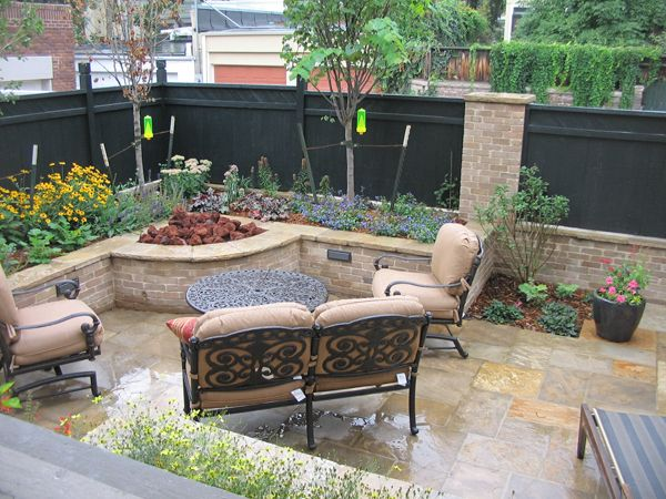 Corner Fire Pit Amp Lounge For The Home Fire Pit Pergola