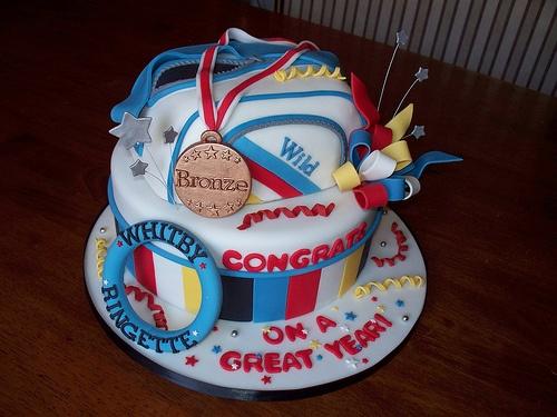 Whitby Wild Ringette team cake