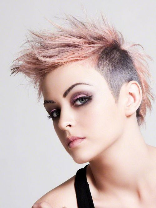 60 Most Gorgeous Mohawk Hairstyles of Nowadays