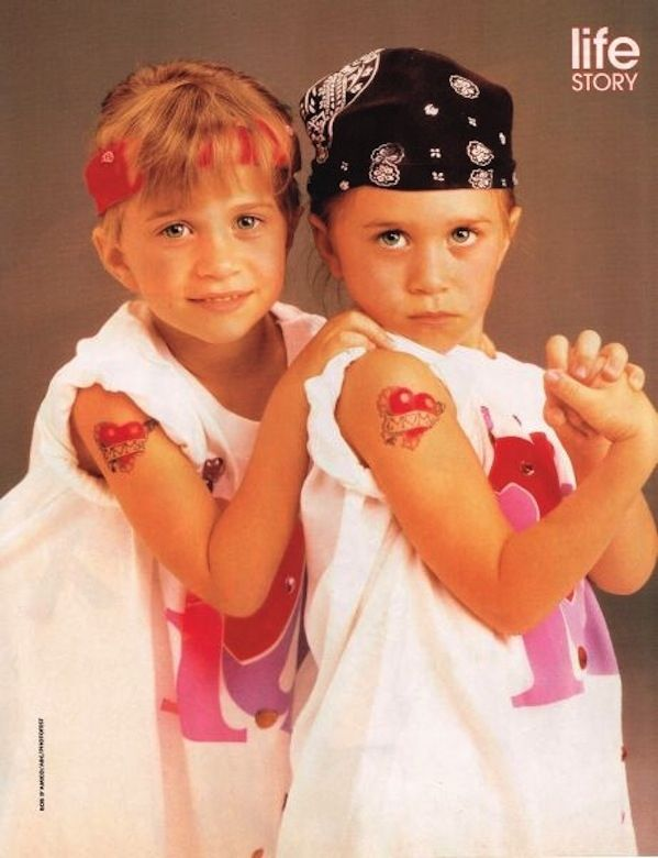 From a young age, the girls began developing complex, multi-faceted personalities. They could be rough, hardened by a life of too much goodness. | 15 Adorable Relics From The Olsen TwinArchive
