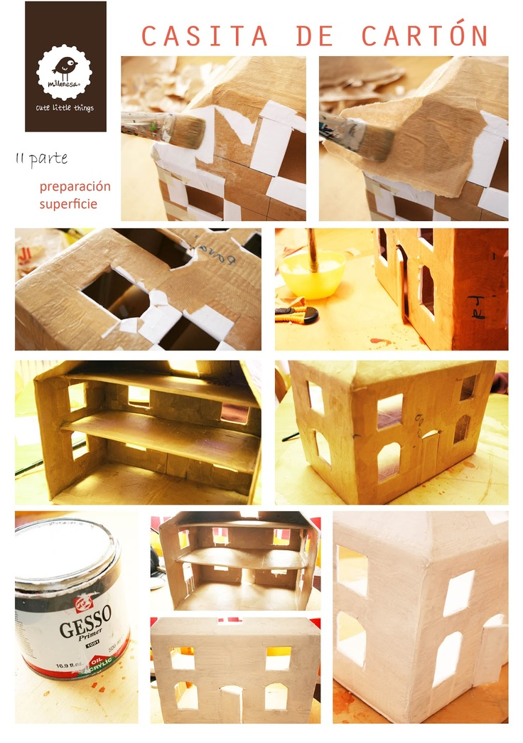 11 best images about casa de carton on pinterest cardboard playhouse spanish and home. Black Bedroom Furniture Sets. Home Design Ideas