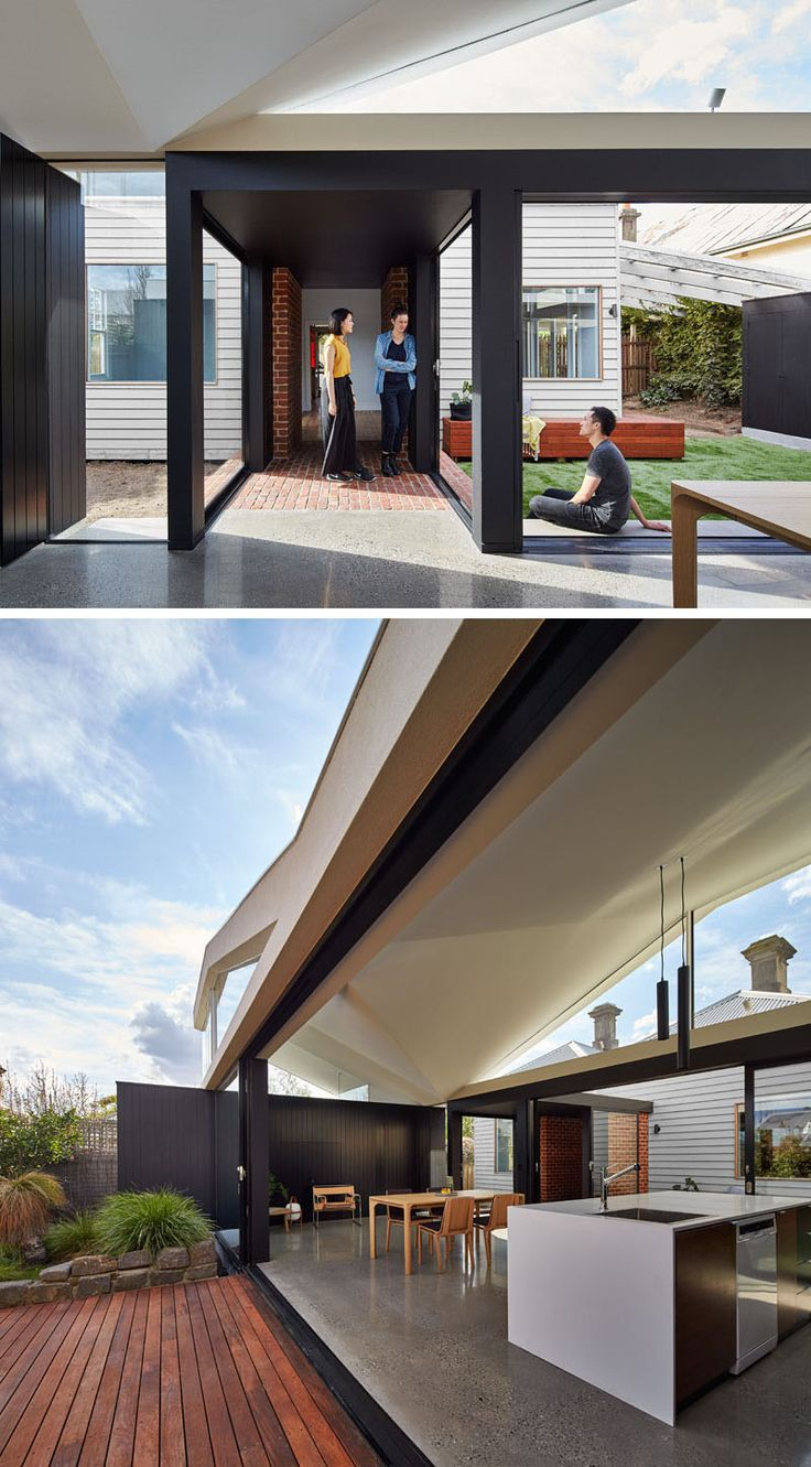 Outdoor living design with bbq area from a real australian home - 412 Best Australian Architecture Images On Pinterest Australian Architecture Architecture And Modern Houses