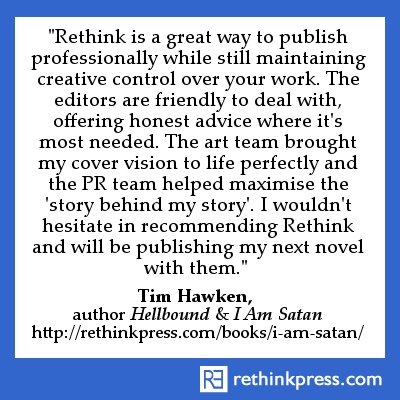 Tim Hawken, author Hellbound & I Am Satan