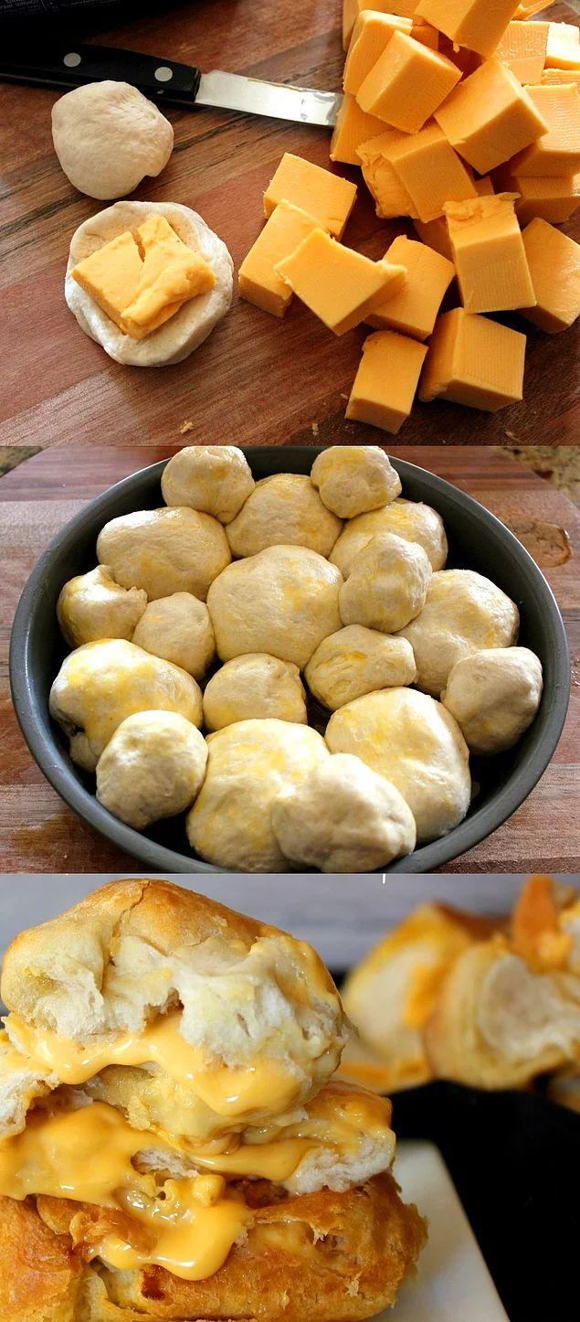 Kalabalık partinin en büyük dostu olacak şey: Peynirli Lokmalar!
