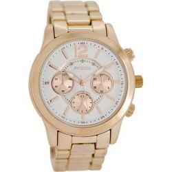 Oozoo Timepieces Metal Bracelet Silver Dial C6893