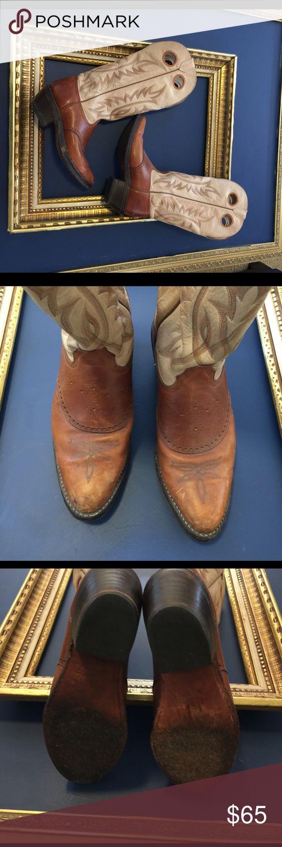 Tony Lama Cowboy Boots VIntage pair of Tony Lama Cowboy boots. Tony Lama Shoes Winter & Rain Boots