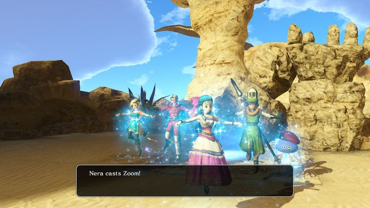 Dragon Quest Heroes II Nera Flora Bianca Kiryl Angelo Cheat Engine Zoom
