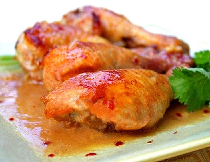 This tender dish is best used with quarter chicken pieces (leg and thigh), and make nice individual portions for serving guests.