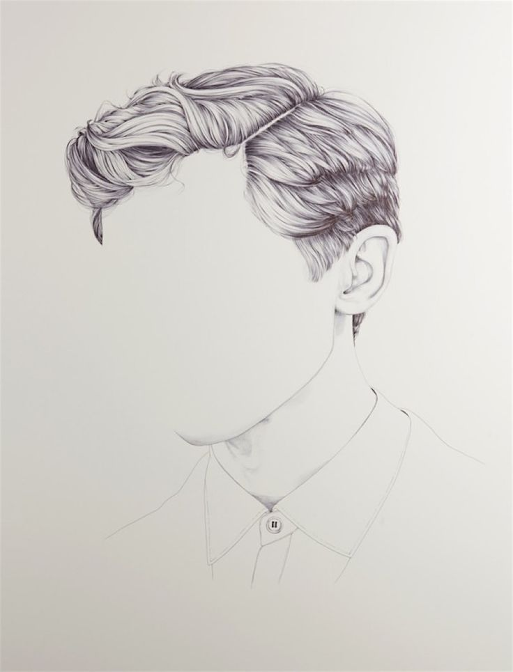 Henrietta Harris draws heads without faces | KlonBlog