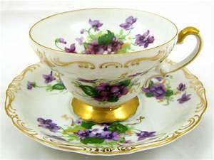 Norcrest Sweet Violet vintage TEA CUP & from eBay ...