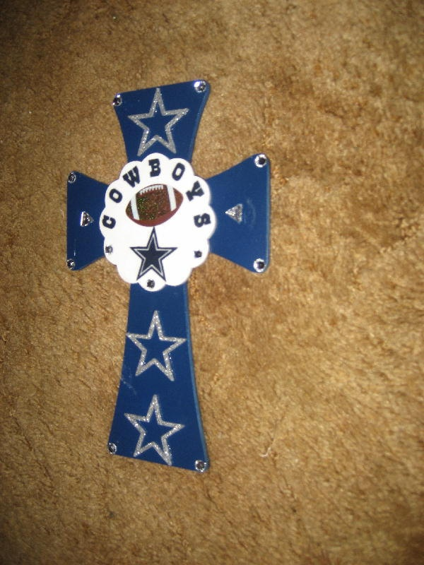 356 best crosses images on pinterest mosaic crosses for Dallas cowboys arts and crafts