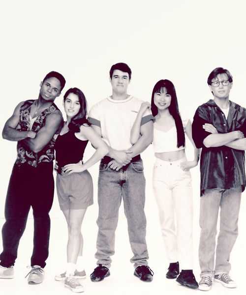 The Power Rangers Cast