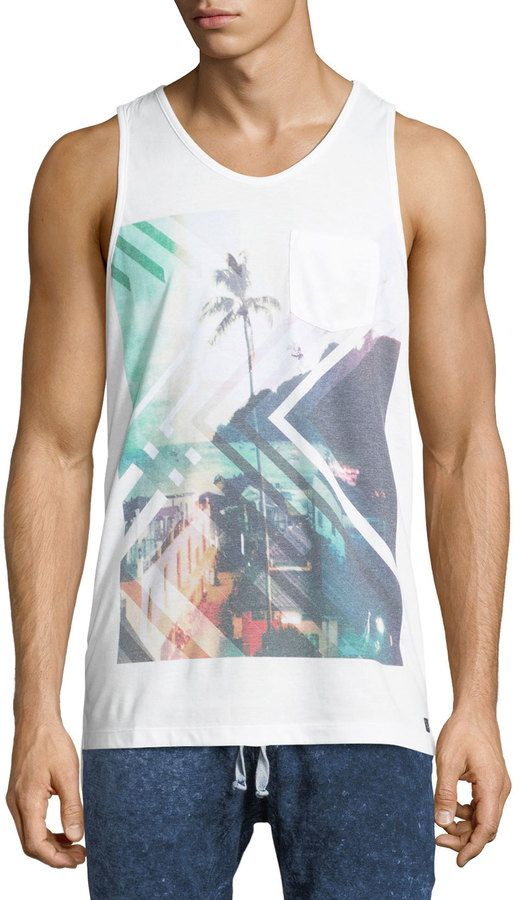 Civil Society Step Up Sublimated-Graphic Tank