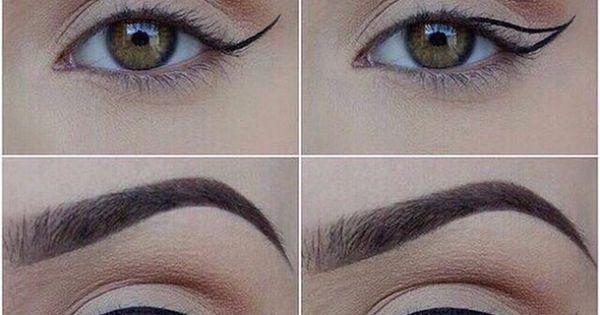 Como destacar o olhar sem cometer erros   Maquiagem   Pinterest   For women, Eyeliner techniques and Tes