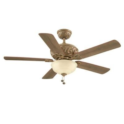 The 25 best hampton bay ceiling fan ideas on pinterest bedroom hampton bay palisades 52 in indoor tuscan bisque ceiling fan with light kit aloadofball Gallery