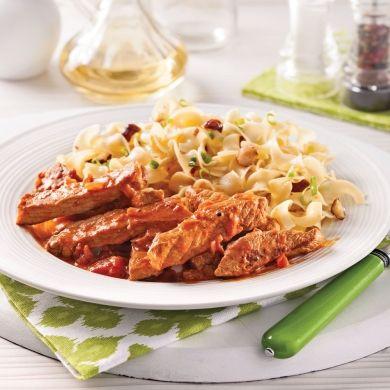 Côtelettes de porc au paprika fumé - Soupers de semaine - Recettes 5-15 - Recettes express 5/15 - Pratico Pratique