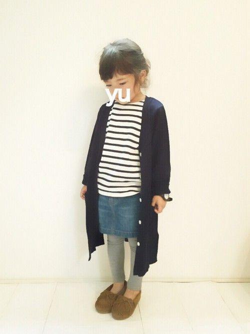 yuuuna|petit mainのカーディガンを使ったコーディネート