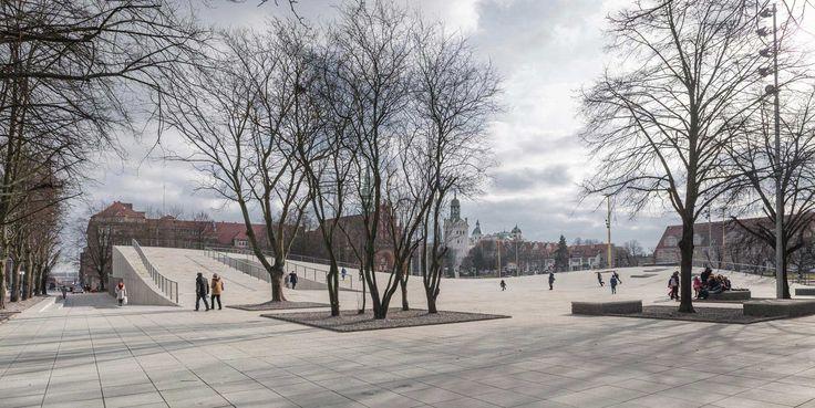 photo:Juliusz-Sokolowski « Landscape Architecture Works | Landezine. Szczecin_KWK Promes