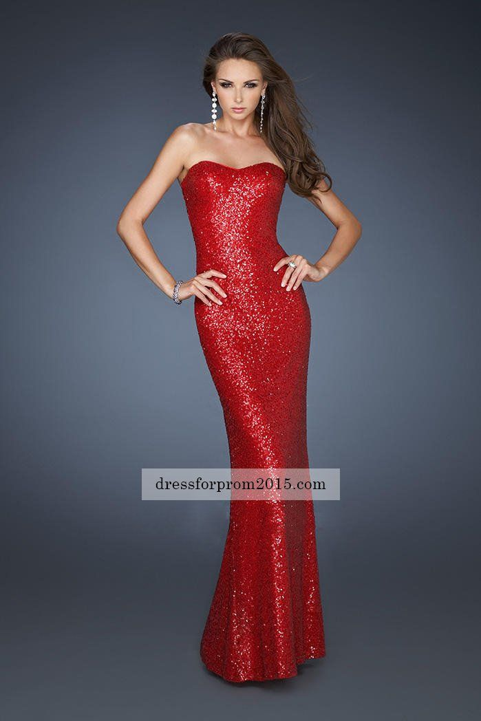 Red Leather Prom Dresses