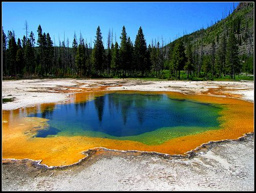 Emerald Pool, Yellowstone National Park, Wyoming